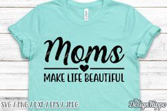 Mom Quotes SVG Bundle, 20 Designs, SVG PNG DXF Cutting Files Product Image 6