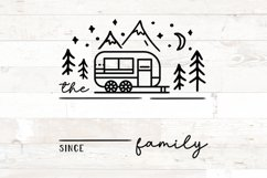 Family Name Sign RV Camper Camping Last Name Product Image 2