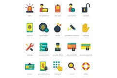 60 Security Icons Product Image 2