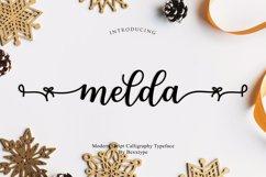 Melda Script | Modern calligraphy Product Image 1