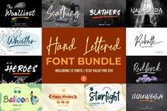 Hand Lettered Font Bundle Product Image 1
