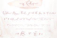 Miss Katherine font + Extras & Logo Product Image 5