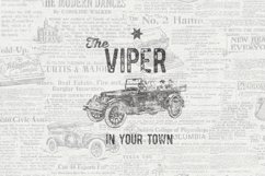 Vintage Pack-17 fonts and elements Product Image 7