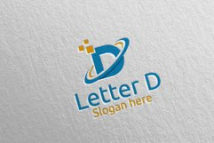 Letter D Digital Marketing Financial Logo 74 Product Image 3