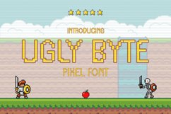 Ugly Byte - Pixel Font Product Image 1
