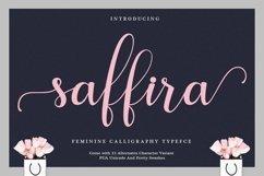 Web Font Saffira Script Product Image 1