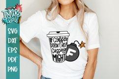 Swear Mom svg / Coffee svg / Sarcastic SVG Product Image 1