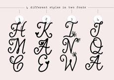 Handwritten Monogram Font - Four Styles Product Image 6