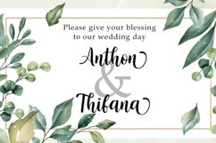 Nattasha   A Calligraphy Font Product Image 3