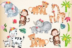 Mother and baby animals clipart Product Image 3