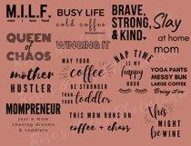 Mom Life SVG Bundle - Mom Bundle - Mothers Day Bundle SVG Product Image 3
