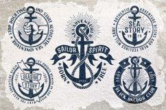Anchor retro logo templates Product Image 4