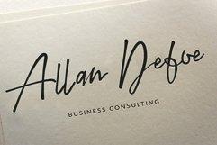 San Andreas Signature Font Product Image 3