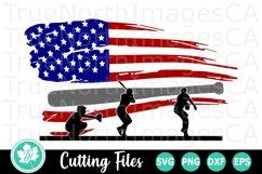Baseball SVG   American Flag SVG   Baseball Players Product Image 1