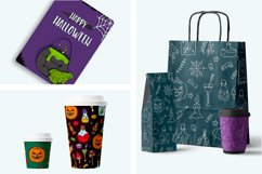 Halloween collection. Patterns, Elements, Posters Product Image 6