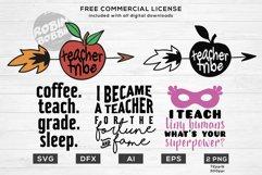 Teacher Life Bundle - Funny Teacher Quotes SVG Files Product Image 3
