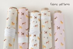 Watercolor Cute Dogs. Patterns and Cliparts Product Image 5