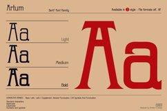Artum - Serif font family Product Image 2