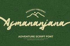 Web Font Asmananjana Font Product Image 1