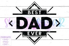 Best Dad Ever svg Files for Cricut Product Image 1