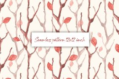 Dry branches. Seamless pattern Product Image 1
