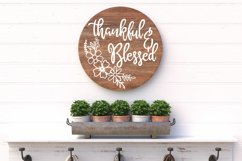 Round Sign Bundle - Round SVG Files - Farmhouse Signs Product Image 6