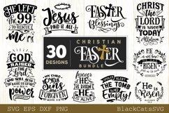 Christian Easter SVG bundle 30 designs Product Image 2
