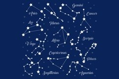 12 zodiac signs constellations Product Image 3