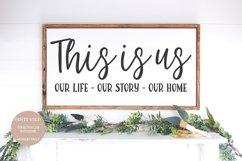 HOME & FAMILY Farmhouse Serif Font Product Image 2