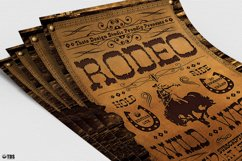 Western Rodeo Flyer Template V2 Product Image 5