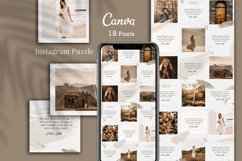 Instagram Puzzle Grid, Canva Product Image 1