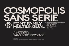 Cosmopolis - Sans serif font family Product Image 4