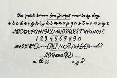 Botade | Metroscript Typeface Font Product Image 6