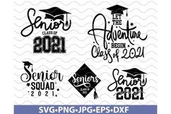 Senior 2021 SVG, Senior SVG Bundle, Class of 2021 SVG, Class Product Image 2