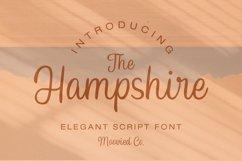 Hampshire Elegant Script Product Image 1