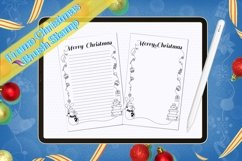 Procreate brush stamp Guide frame Christmas,Frame Christmas Product Image 2