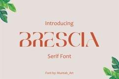 Brescia   Modern Serif Product Image 1