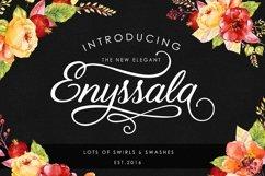 Web Font Enyssala Script Product Image 1