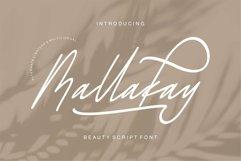Web Font Mallakay - Beauty Script Font Product Image 1