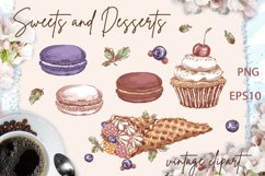 Sweets and desserts. Mini-set 3 Product Image 2