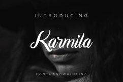 Karmila Font Script Product Image 1