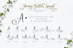 Honey Butter Font Trio & 260 Vectors Product Image 6