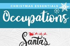 Christmas Nurse Practitioner svg -Santa's favorite np svg Product Image 6