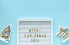 Christmas flat lay stock styled photo Product Image 1