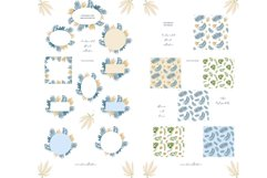 Pastel flowers - patterns and frames Product Image 6