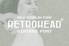 Retrohead Typeface | Font Product Image 1