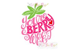EXCLUSIVE Berry Sweet SVG & DXF Cut File Product Image 1