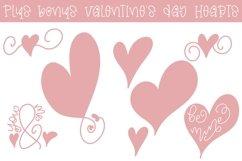 Web Font Valentine's Day Font - Miss Valentina Product Image 3