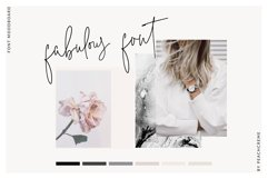 The Styled Edit- Chic Ligature Font Product Image 2