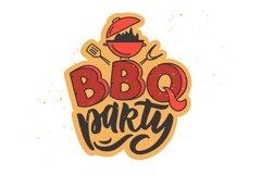 BBQ bundle. Food quotes. Design sublimation Product Image 6